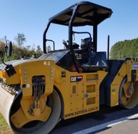 Rolo Compactador Tandem Caterpillar CB 44B